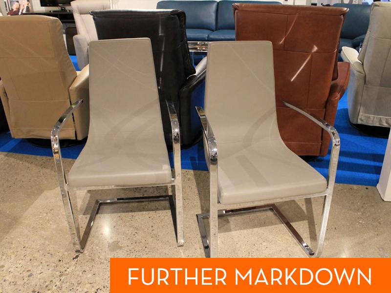 Connubia Cruiser Arm Chair Set Of 2 Floor Model Schreiters